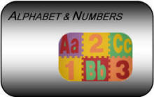 ABC 123 Alphabet & Number puzzle kids interlocking play mats